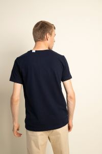 Piqué t-shirt navy