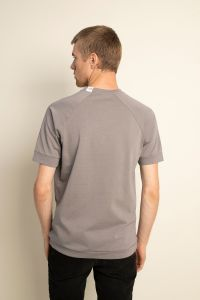Raglan t-shirt grey