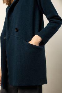 Daisuke pikk jakk sinine
