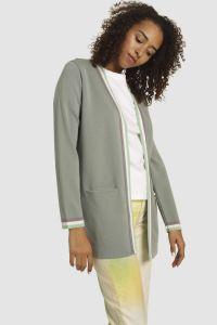 Akari merino blazer green