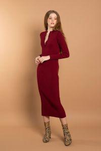 Hanako kleit punane