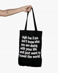 Bold Tuesday tote bag