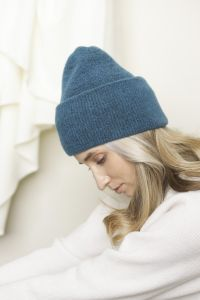 Lara meriino müts sinine