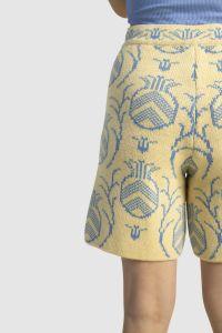 Ananass meriino lühikesed püksid kollased