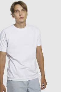 Raglaan t-särk valge