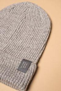 Hiro hat grey / white