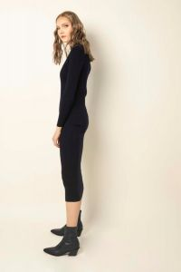 Hanako dress navy blue