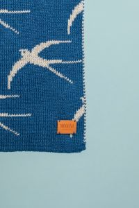Swallow blanky blue / grey