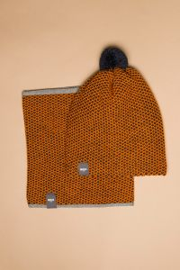 Tuk-tuk tube scarf orange / dark blue