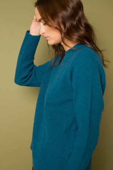 Oita pullover arctic blue