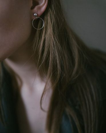 Helge Meisi hõbe kõrvarõngad