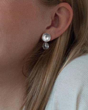 Helge Maddie silver earrings