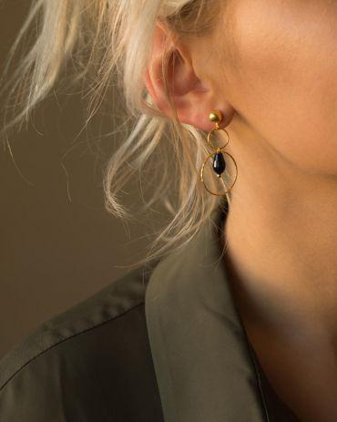 Helge Anilee gold earrings