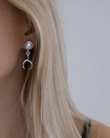Helge Kiana silver earrings