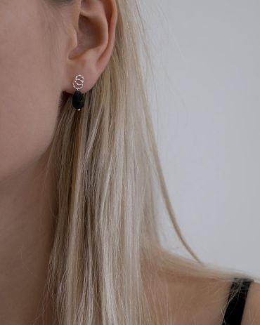 Helge Avie hõbe kõrvarõngad