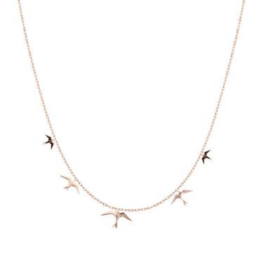 Hyrv Freedom Chain Necklace Golden