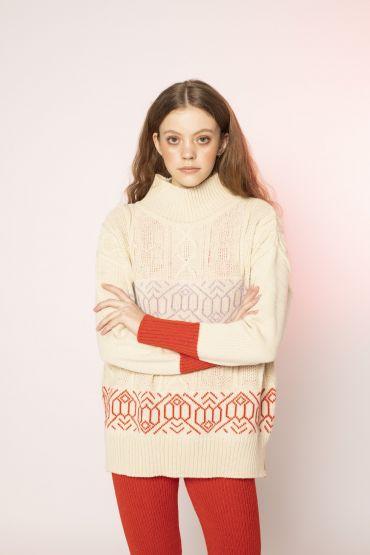Masami jumper white