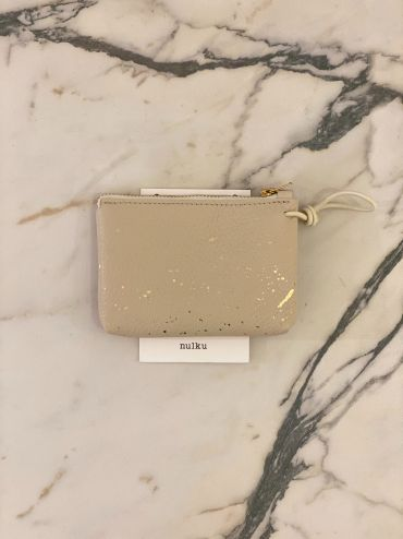 Nulku pouch light beige