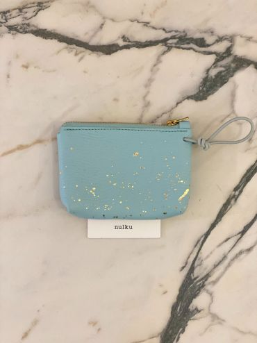 Nulku pouch light blue