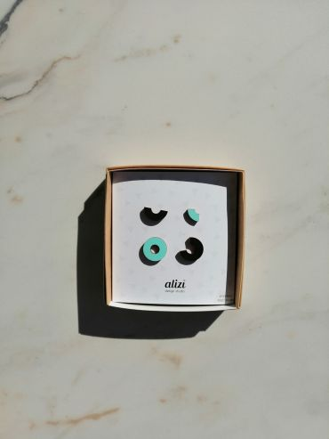 Alizi design 4ne komplekt kõrvarõngaid