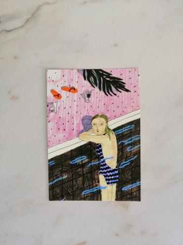Liisa Kruusmägi postcard