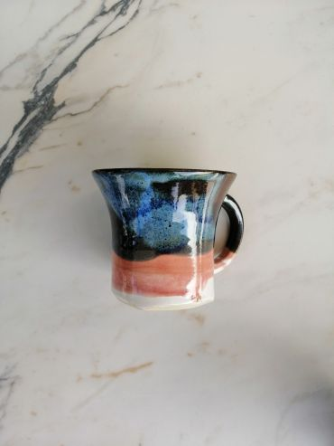 Tapfer pink / dark blue cup