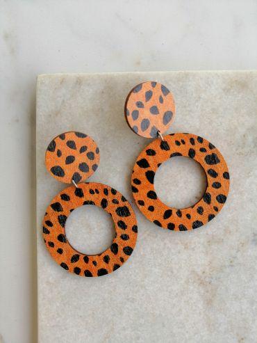 La.Kiva lulu row earrings