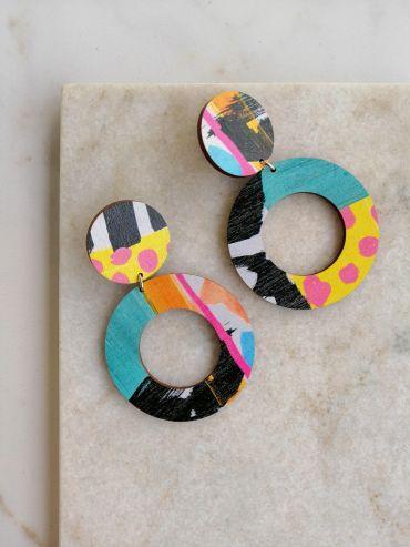La.Kiva ponygirl earrings