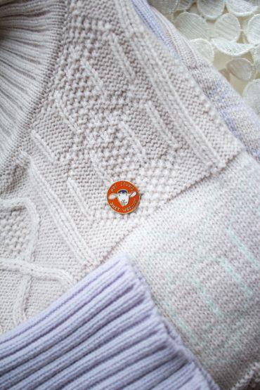 Pin Krõõt Kukkur X Woolish orange
