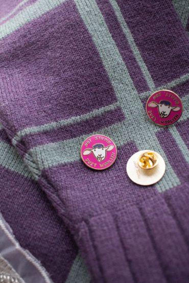 Pin Krõõt Kukkur X Woolish purple