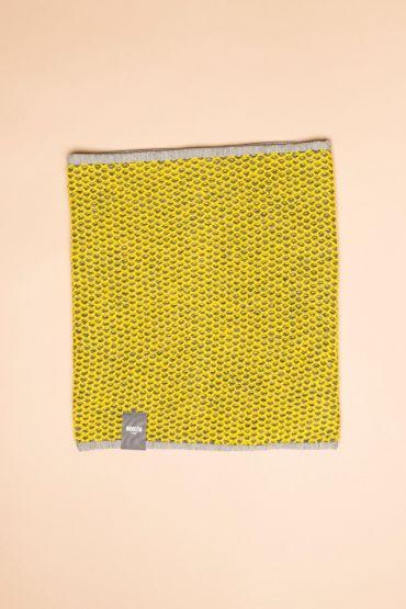 Tuk-tuk tube scarf yellow / grey