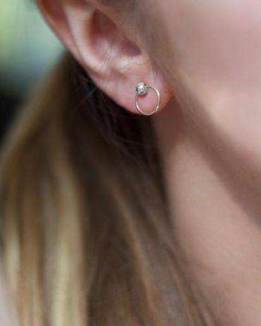 Helge Nima silver earrings