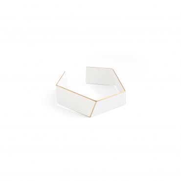 Lisa Kröeber Bracelet Folded White