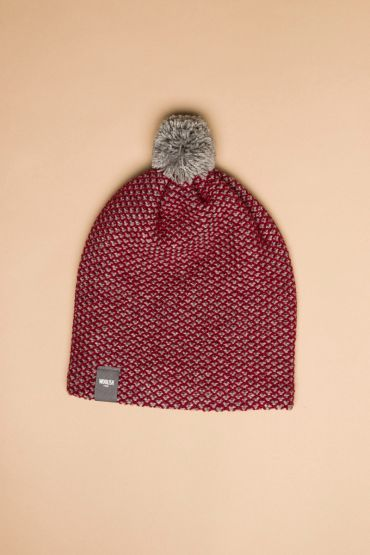 Tuk-tuk hat red / grey