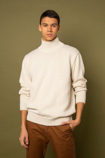 Mito sweater white