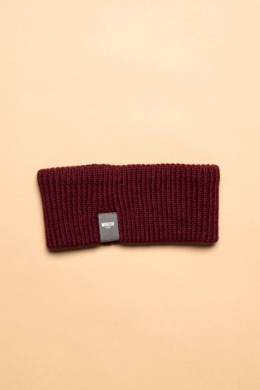 Iida headband burgundy