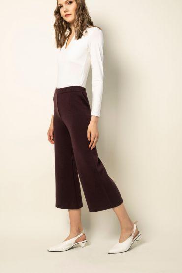 Shibata culotte-püksid lilla