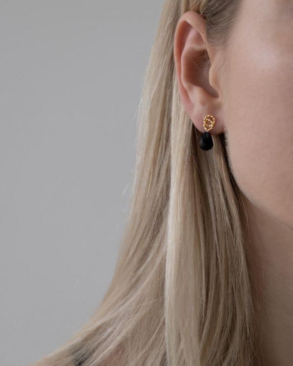 Helge Avie kuld kõrvarõngad