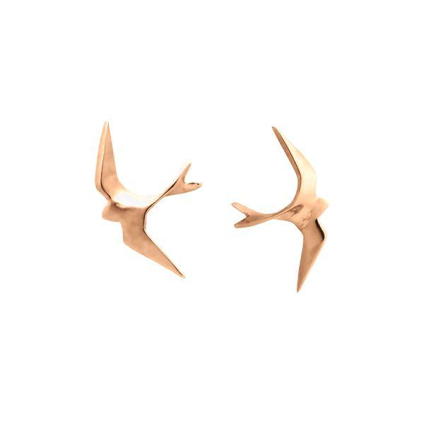 Hyrv Freedom Mini Kõrvarõngad Kuld