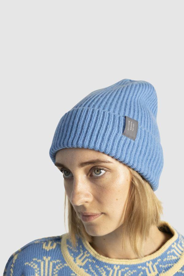 Hiro meriino müts sinine