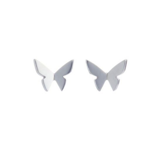 Hyrv Les Papillons Mini Kõrvarõngad Hõbe