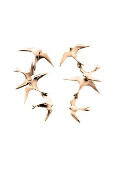 Hyrv Freedom Flock Kõrvarõngad Kuld