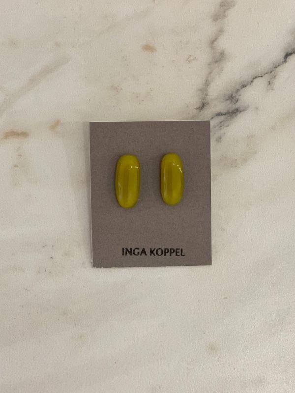 Inga Koppel oliivikarva kõrvarõngad