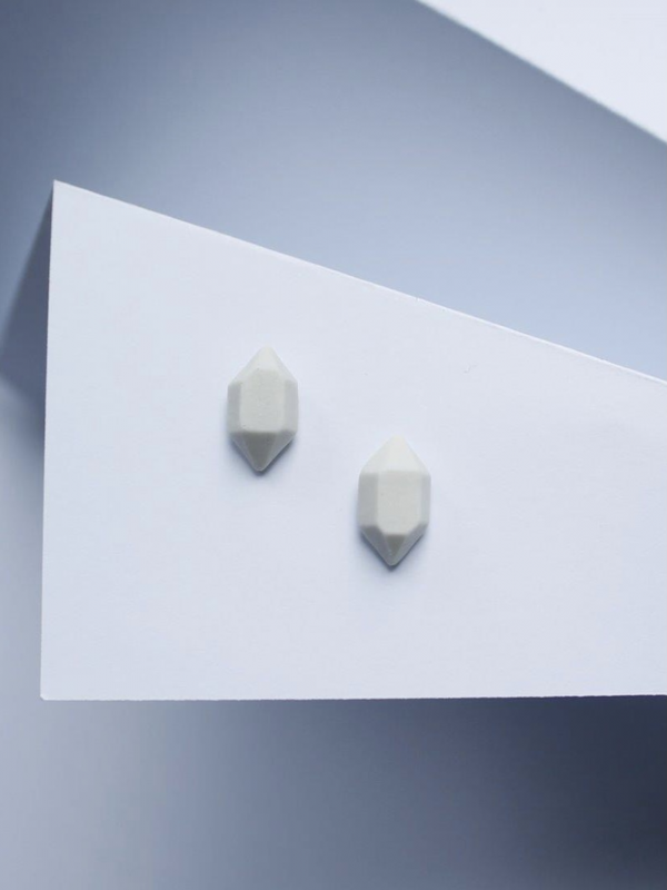 Kõrvarõngad Kristall valge