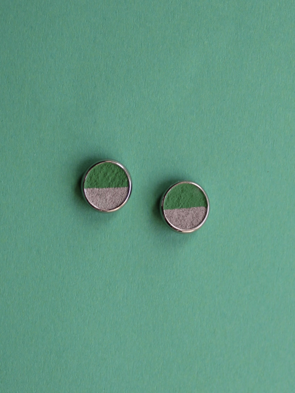 Kõrvarõngad Ring roheline
