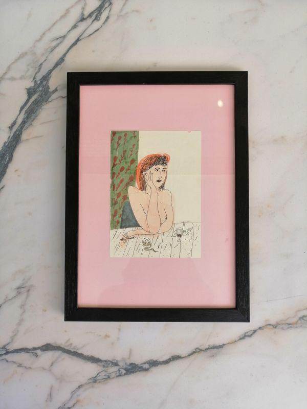 Liisa Kruusmägi illustratsioon roosa vaht