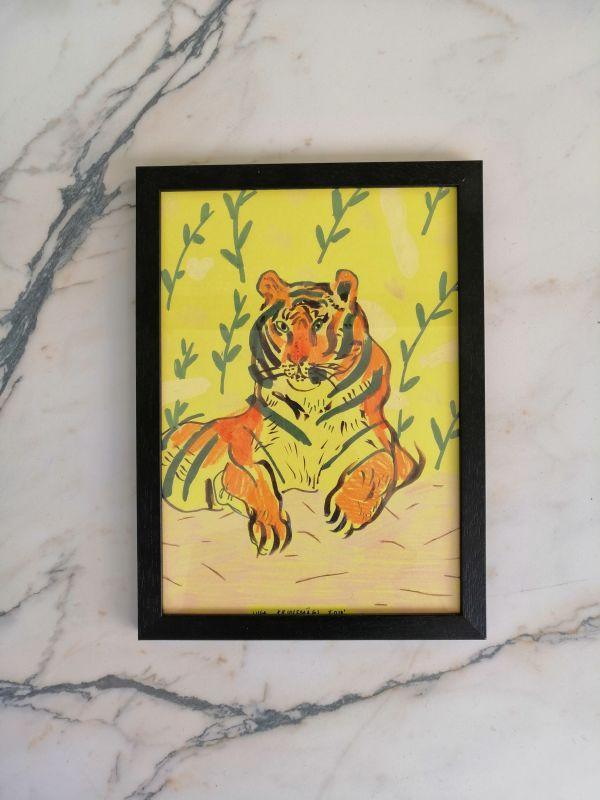Liisa Kruusmägi illustratsioon lõvi