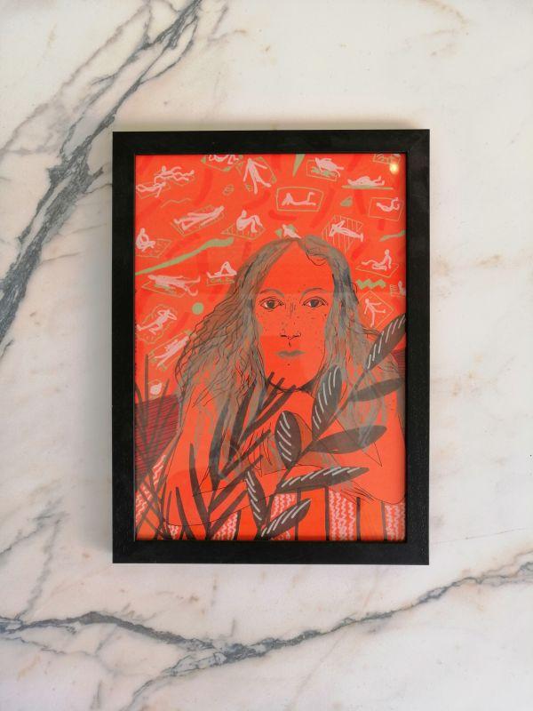 Liisa Kruusmägi illustratsioon punane uni