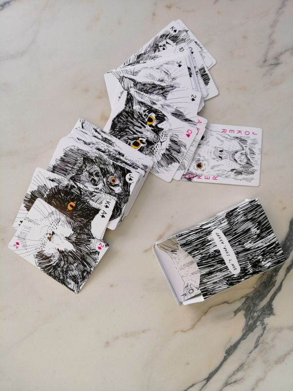 Krõõt Kukkur dont shop, adopt mängukaardid
