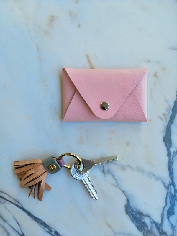 Stella Soomlais coin pocket pink
